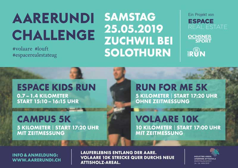Aarerundi Challenge Plakat