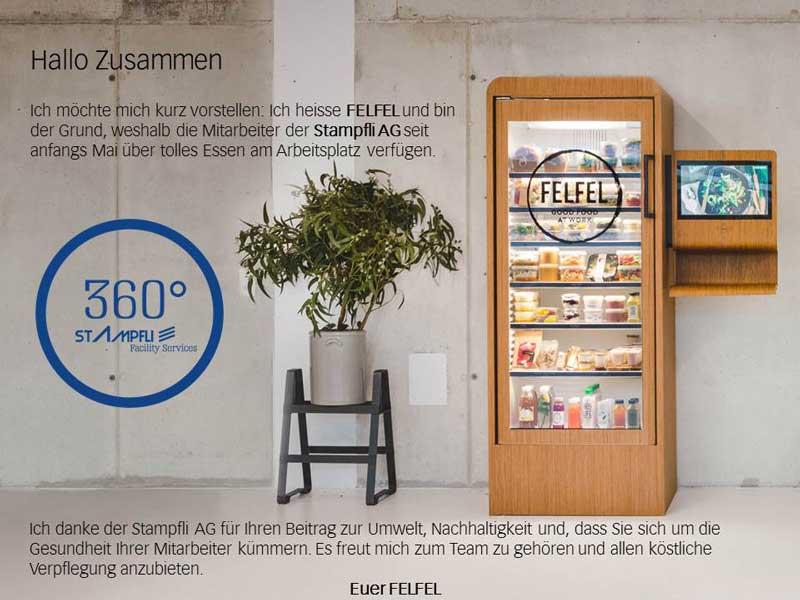 FELFEL Kühlschrank