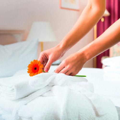 Hotelzimmerreinigung