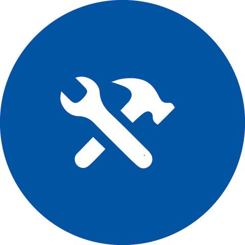 Icon Anlagenaufnahme