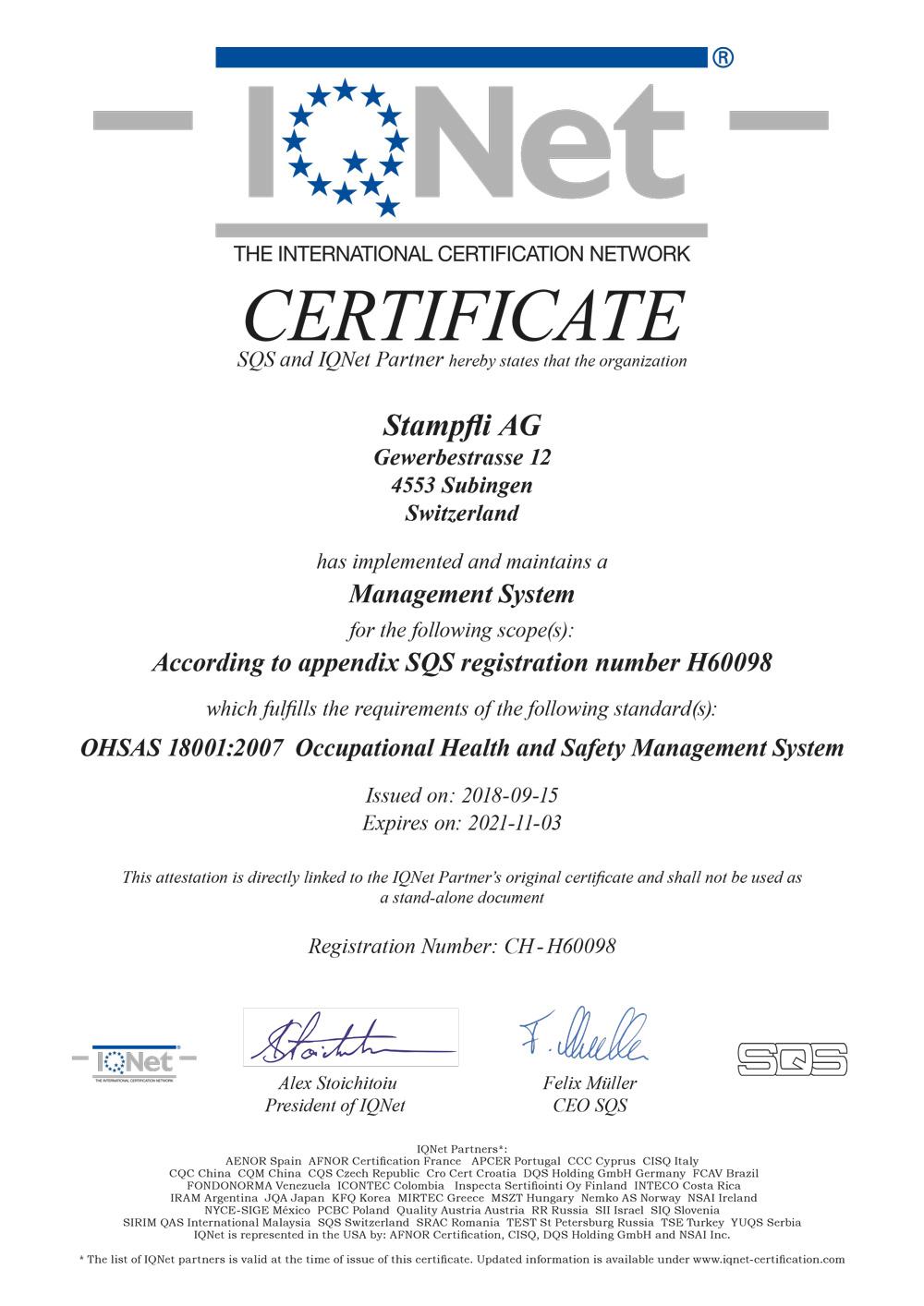 ISO_IQNET Zertifikat bis 2021-11-03